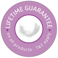 Hex Valley Down Products Lifetime guarantee